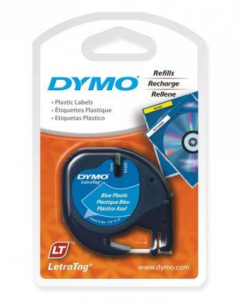 Пластмасова лента DYMO 91205, 12mm х 4m, синя