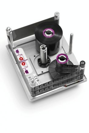Термотрансферна лента за Markem Smartdate 2, 2i, 2c, 3, 3c, 5, Premium near Edge WAX / RESIN, Черна, 30mm X 600m, IN