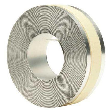 Dymo 35800 M11 tapes - самозалепваща алуминиева лента, 12,7mm x 3,66m, цвят сребърен