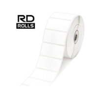 Консуматив Brother RD-S05E1 White Paper Label Roll, 1 500 labels per roll, 51mm x 26mm(съвместим)