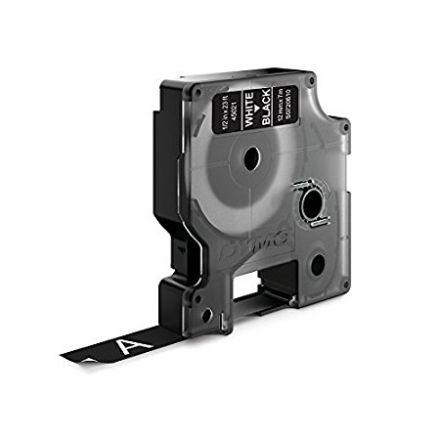 ЛЕНТА D1 - Dymo  45021, 12mm X 7m, черна, бял надпис
