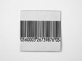 RF етикети за охрана на стоки, 30mm x 30mm