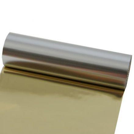 Термотрансферна лента Premium Rezin - златен металик(Metallic Gold PANTONE 871)