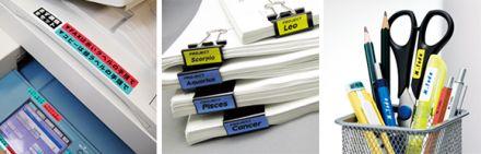 Eтикети лента Dymo D1 комплект 2+1 подарък