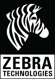 Комплект - 1 900бр.Оригинални Етикети Zebra 800294-605, логистични етикети с перфорация + 1бр. Термотрансферна лента Zebra 2300 Wax 02300BK11030