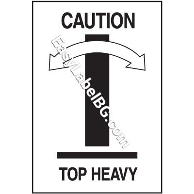 Етикети за тежки пратки, 100mm x 70mm, 400бр.