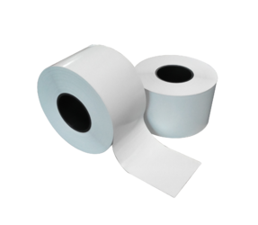 EcoSlim LinerLess Scale Thermo Thermal Rolls Without Backing Paper for Bizerba, 58mm x 65m