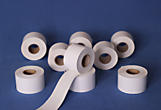 Самозалепващa непрекъсната лента за термодиректни хартиени етикети без носеща подложка за Bizerba 58mm x 65m