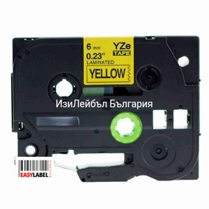 Консуматив Brother TZ-631 Tape Black on Yellow Laminated 12mm, съвместим