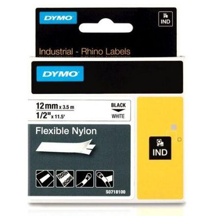 Dymo IND RhinoPRO 18488 -12mm X 3,5m,  бял найлон