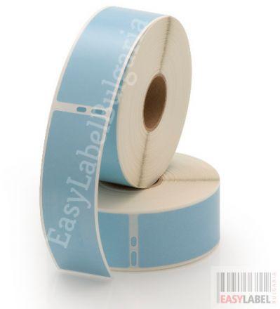Съвместими 99010 Dymo етикети, 28mm x 89mm, сини
