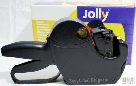 Маркиращи клещи Jolly S16, двуредови+5 бр. ролки бели етикети 26mm х 16mm