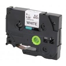Съвместим Brother TZe-221 Tape Black on White Laminated 9mm