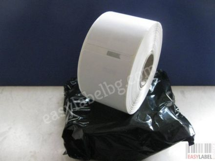 Оригинални етикети Dymo 11356, 89mm x 41mm, бели, 300бр. в ролка