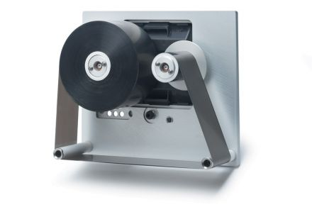 Кодинг фолио, Hot Foil, Черна, 30mm X 122m