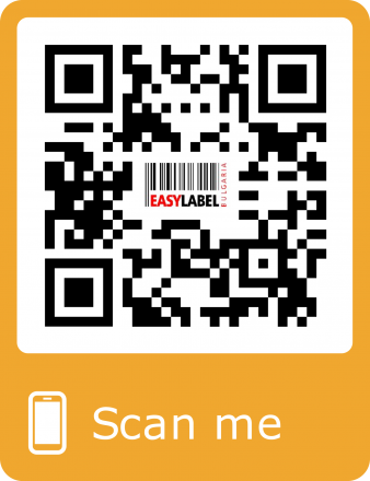 Generate and print labels with a QR code