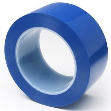 Синя стандартна самозалепваща се опаковъчна лента - тиксо, 48mm x 66m