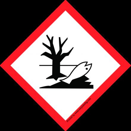 Етикети GHS - Пиктограма за опасност, PP фолио, 100mm x 100mm, 500бр.